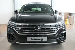2020 Volkswagen Touareg CR MY21 210TDI Tiptronic 4MOTION R-Line Black 8 Speed Sports Automatic Wagon