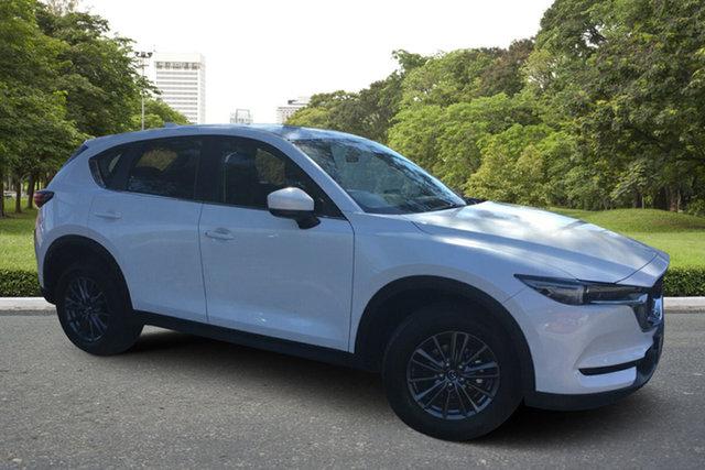Demo Mazda CX-5 KF2W7A Maxx SKYACTIV-Drive FWD Sport Paradise, 2021 Mazda CX-5 KF2W7A Maxx SKYACTIV-Drive FWD Sport White Pearl 6 Speed Sports Automatic Wagon