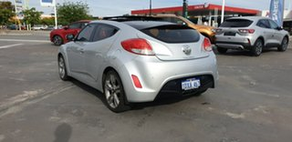 2012 Hyundai Veloster FS + Coupe Silver 6 Speed Manual Hatchback.