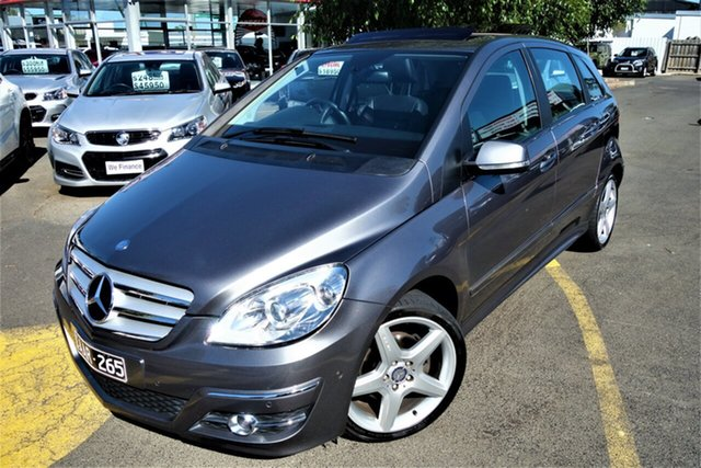 Used Mercedes-Benz B-Class W245 MY10 B200 Turbo Seaford, 2010 Mercedes-Benz B-Class W245 MY10 B200 Turbo Silver 7 Speed Constant Variable Hatchback