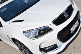 2016 Holden Commodore VF II MY16 SS V White 6 Speed Manual Sedan.