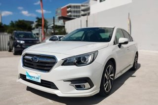 Subaru Liberty 2.5I White Constant Variable Sedan.