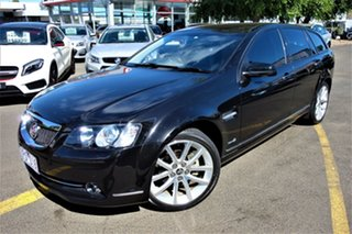 2012 Holden Calais VE II MY12.5 V Sportwagon Black 6 Speed Sports Automatic Wagon.