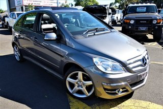 2010 Mercedes-Benz B-Class W245 MY10 B200 Turbo Silver 7 Speed Constant Variable Hatchback.