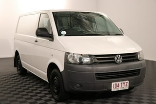 2013 Volkswagen Transporter T5 MY13 TDI340 SWB DSG White 7 speed Automatic Van.