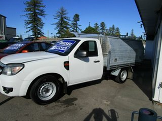 2009 Ford Ranger PJ 07 Upgrade XL (4x2) White 5 Speed Manual Pickup