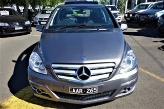 2010 Mercedes-Benz B-Class W245 MY10 B200 Turbo Silver 7 Speed Constant Variable Hatchback