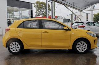 2019 Kia Rio YB MY20 S Yellow 4 Speed Sports Automatic Hatchback.