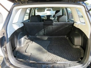2008 Subaru Forester MY08 X Black 4 Speed Auto Elec Sportshift Wagon
