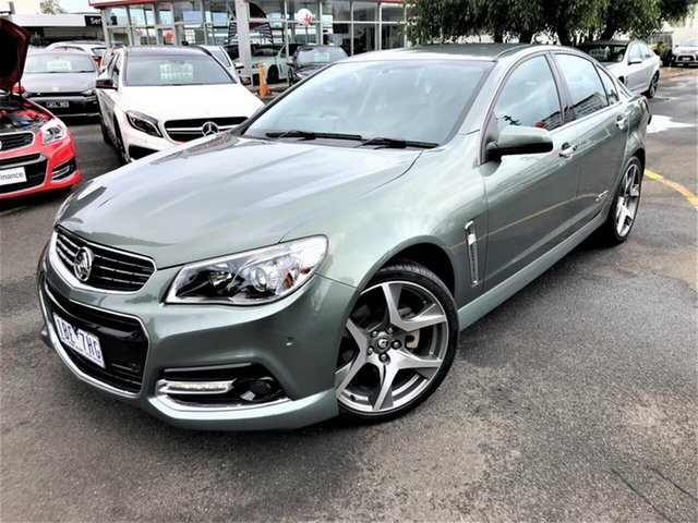Used Holden Commodore VF MY14 SS V Seaford, 2014 Holden Commodore VF MY14 SS V Grey 6 Speed Sports Automatic Sedan
