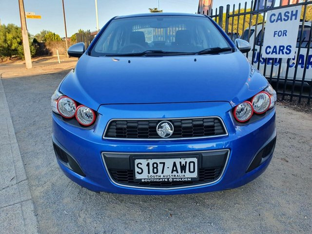 Used Holden Barina TM MY13 CD Morphett Vale, 2013 Holden Barina TM MY13 CD Blue 6 Speed Automatic Sedan