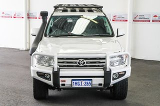 2011 Toyota Landcruiser VDJ200R 09 Upgrade Sahara (4x4) Crystal Pearl 6 Speed Automatic Wagon
