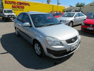 2006 Kia Rio JB EX Silver 5 Speed Manual Sedan.
