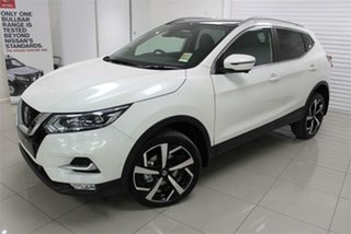 2021 Nissan Qashqai J11 Series 3 TI Ivory Pearl 1 Speed Constant Variable Wagon.