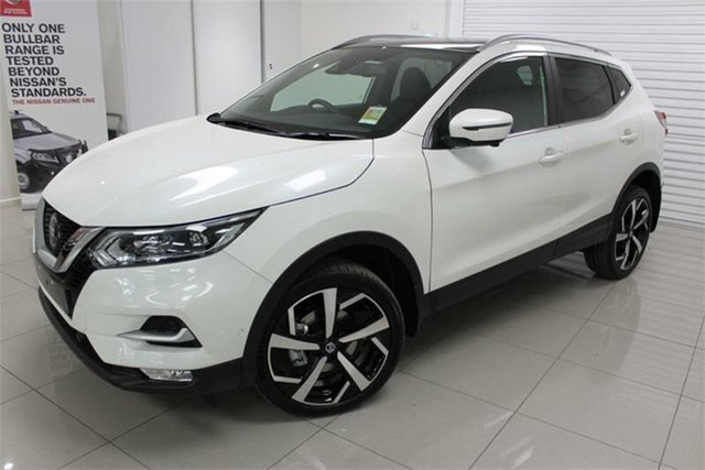 New Nissan Qashqai TI , 2021 Nissan Qashqai J11 Series 3 TI Ivory Pearl 1 Speed Constant Variable Wagon
