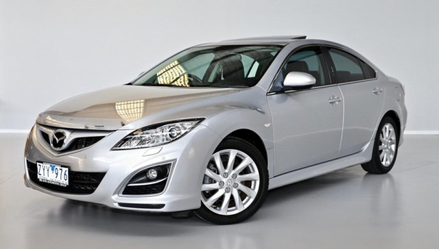Used Mazda 6 GH1052 MY10 Luxury Thomastown, 2010 Mazda 6 GH1052 MY10 Luxury Silver 5 Speed Sports Automatic Sedan
