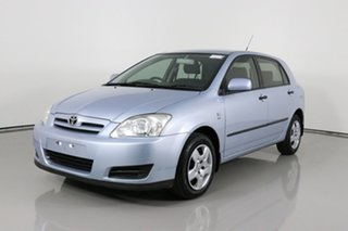 2005 Toyota Corolla ZZE122R Ascent Blue 4 Speed Automatic Sedan.