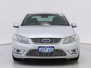 2010 Ford Falcon FG G6E Turbo Silver 6 Speed Automatic Sedan.