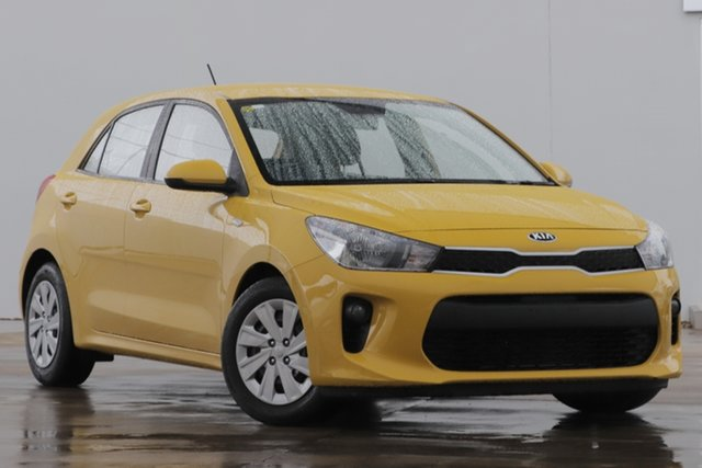 Used Kia Rio YB MY20 S Bundamba, 2019 Kia Rio YB MY20 S Yellow 4 Speed Sports Automatic Hatchback