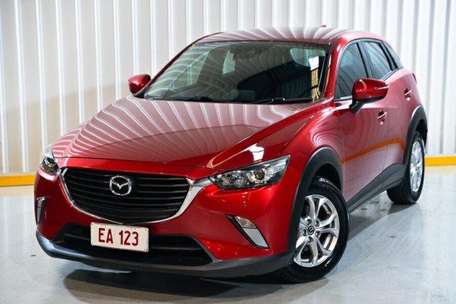 Used Mazda CX-3 DK2W7A Maxx SKYACTIV-Drive Hendra, 2018 Mazda CX-3 DK2W7A Maxx SKYACTIV-Drive Red/Black 6 Speed Sports Automatic Wagon