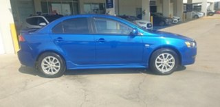 2010 Mitsubishi Lancer CJ MY10 ES Blue 6 Speed Constant Variable Sedan.