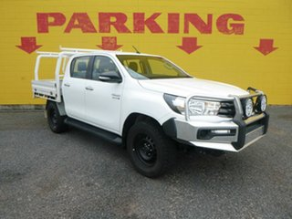 2015 Toyota Hilux GUN126R SR White 6 Speed Sports Automatic Dual Cab.