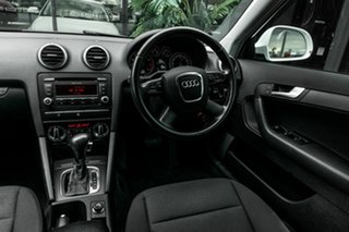 2009 Audi A3 8P MY09 TFSI Sportback S Tronic Attraction White 7 Speed Sports Automatic Dual Clutch