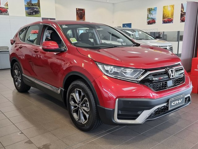 New Honda CR-V RW MY21 VTi FWD X Hornsby, 2020 Honda CR-V RW MY21 VTi FWD X Ignite Red 1 Speed Constant Variable Wagon