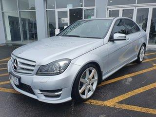 2012 Mercedes-Benz C-Class W204 MY13 C250 CDI BlueEFFICIENCY 7G-Tronic + Elegance Silver 7 Speed.