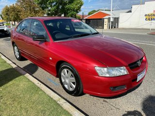 2006 Holden Commodore VZ Executive Red 4 Speed Automatic Sedan.