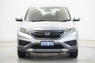2016 Honda CR-V RM Series II MY17 VTi 4WD Silver 5 Speed Sports Automatic Wagon.