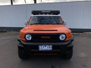 2012 Toyota FJ Cruiser GSJ15R Orange Clay 5 Speed Automatic Wagon