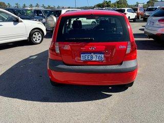 2005 Hyundai Getz TB GL Red 5 Speed Manual Hatchback