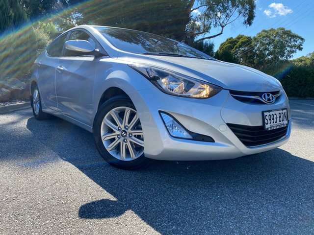 Used Hyundai Elantra MD3 Trophy Totness, 2014 Hyundai Elantra MD3 Trophy Sleek Silver 6 Speed Sports Automatic Sedan