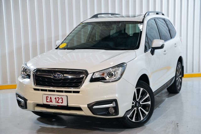 Used Subaru Forester S4 MY17 2.5i-S CVT AWD Hendra, 2017 Subaru Forester S4 MY17 2.5i-S CVT AWD White 6 Speed Constant Variable Wagon