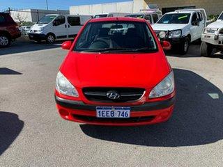 2005 Hyundai Getz TB GL Red 5 Speed Manual Hatchback.