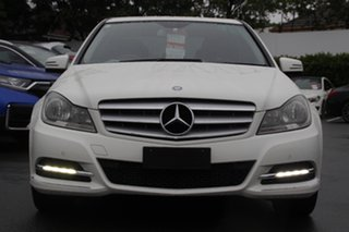 2012 Mercedes-Benz C-Class W204 MY12 C250 CDI BlueEFFICIENCY 7G-Tronic + Elegance White 7 Speed
