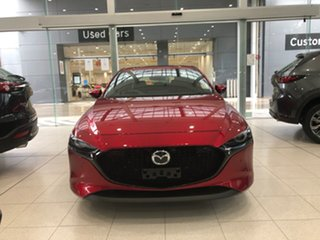 2021 Mazda 3 BP2HLA G25 SKYACTIV-Drive Astina Soul Red Crystal 6 Speed Sports Automatic Hatchback.