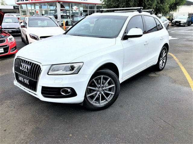 Used Audi Q5 8R MY15 TDI S Tronic Quattro Sport Edition Seaford, 2015 Audi Q5 8R MY15 TDI S Tronic Quattro Sport Edition White 7 Speed Sports Automatic Dual Clutch