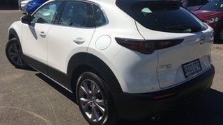 2020 Mazda CX-30 DM4WLA G25 SKYACTIV-Drive i-ACTIV AWD Touring White 6 Speed Sports Automatic Wagon.