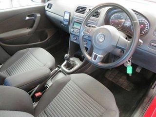 2013 Volkswagen Polo 6R MY14 77 TSI Comfortline Red 6 Speed Manual Hatchback