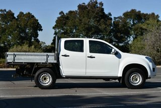 2016 Isuzu D-MAX MY15.5 SX Crew Cab White 5 Speed Sports Automatic Cab Chassis