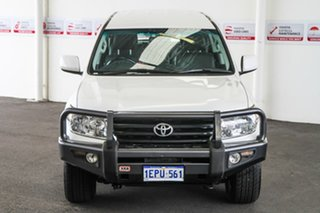 2011 Toyota Landcruiser VDJ200R Altitude SE Crystal Pearl 6 Speed Automatic Wagon