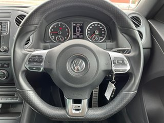 2016 Volkswagen Tiguan 5N MY16 155TSI DSG 4MOTION R-Line White 7 Speed Sports Automatic Dual Clutch