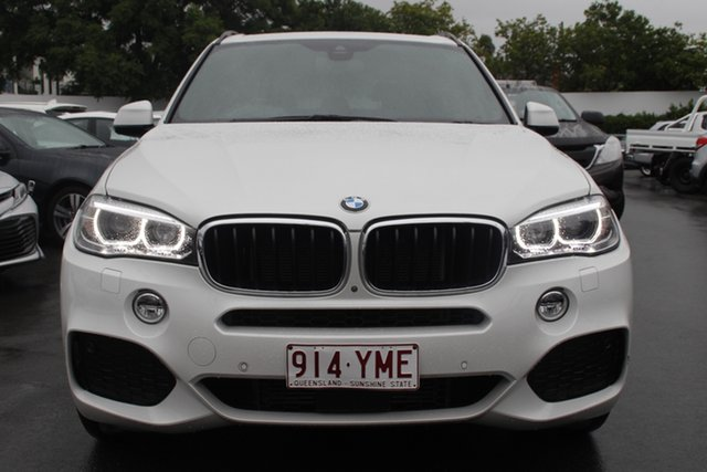 Used BMW X5 F15 xDrive35i Mount Gravatt, 2017 BMW X5 F15 xDrive35i White 8 Speed Sports Automatic Wagon