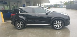 2016 Kia Sportage QL MY17 GT-Line AWD Cherry Black 6 Speed Sports Automatic Wagon.