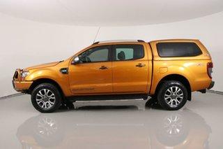 2018 Ford Ranger PX MkII MY18 Wildtrak 3.2 (4x4) Orange 6 Speed Automatic Dual Cab Pick-up