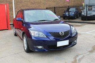 2006 Mazda 3 BK Maxx Blue 4 Speed Auto Activematic Hatchback.