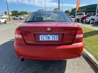 2006 Holden Commodore VZ Executive Red 4 Speed Automatic Sedan