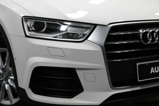 2015 Audi Q3 8U MY14 TFSI S Tronic White 6 Speed Sports Automatic Dual Clutch Wagon